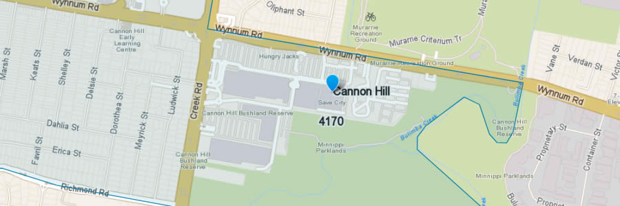 Pest Control Cannon Hill Map