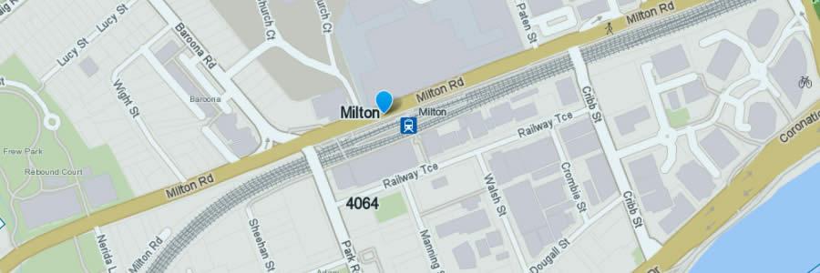 Pest Control Milton Map