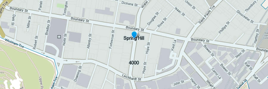 Pest Control Spring Hill Map