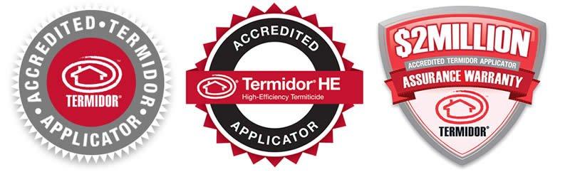 Termidor Termite Accreditation Brisbane